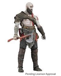 <b>NECA</b> Game <b>God Of</b> War Kratos With Axe PVC Action Figure <b>7</b> inch ...