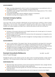 corporate resume format resume format  resume