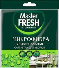 Универсальная <b>салфетка Master FRESH для</b> уборки ...