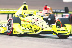 montoya wins at indycar opener at st pete marco andretti th penske