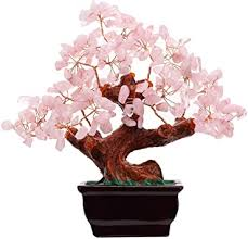Parma77 Feng Shui Natural Rose Pink Quartz Crystal ... - Amazon.com