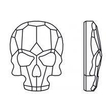 Доступные цвета <b>2856</b> Skull : <b>Стразы</b> холодной фиксации ...