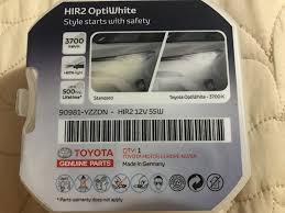 <b>Philips Ultinon Essential</b> LED Hir2 в головной свет — Toyota RAV4 ...