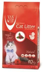 Комкующийся <b>наполнитель Van Cat Natural</b> 10 кг — купить по ...