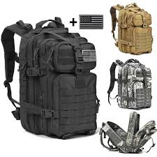 <b>40L Military Tactical</b> Assault <b>Pack Backpack Army Molle</b> Waterproof ...