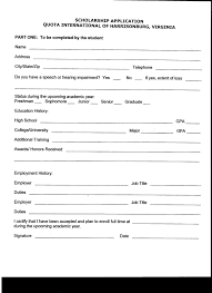 scholarships spotswood high school 65279quota letter65279 application page 1