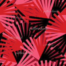 Twisted <b>Geometry</b> - <b>Stripes</b> - Red by Sonja Sporrer-Hornfeck ...
