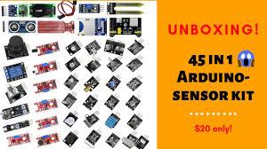 45 in 1 Arduino-<b>Sensor Kit</b> Unboxing