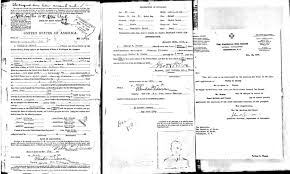 u s passport applications trace the travels of the rich and walt disney thumbnail 3 ernest hemingway thumbnail babe ruth filled out an application