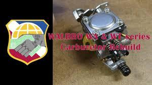 WALBRO WA & <b>WT</b> series <b>Carburetor</b> Rebuild Repair Clean <b>Carb</b> ...