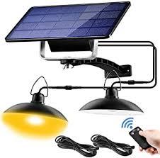Jior <b>Solar</b> Pendant Lights Indoor IP65 Waterproof Lamp for Chicken ...