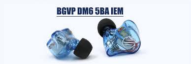 <b>BGVP</b> #<b>DM6</b> 5 Drivers Balanced Armature <b>Customized</b> #HiFi In-ear ...