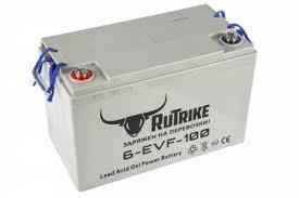 <b>Тяговый гелевый аккумулятор RuTrike</b> 6-EVF-100A (12V100A/H ...
