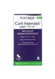 <b>Carb Intercept</b> with <b>Phase 2</b> 1000 мг 120 капс (Natrol ...