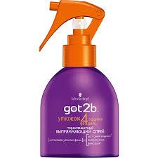 <b>Лак для волос</b> Got2b <b>без</b> фиксации для локонов c термозащитой ...