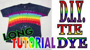 Midnight <b>Rainbow Tie Dye</b> Shirt [Long Tutorial] #64 - YouTube