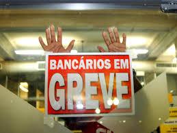Resultado de imagem para greve dos bancários