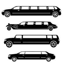 <b>Wedding Car</b> Limousine Vector Images (over 230)