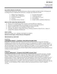 assistant resumes templates resume assistant examples of medical gallery of resume templates for administrative assistants