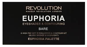 REVOLUTION <b>Палетка для макияжа</b> Euphoria Palette Bare ...