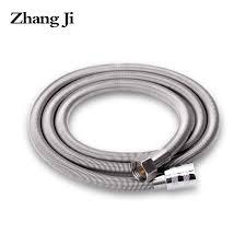 <b>ZhangJi</b> 1.5m Stainless Steel Shower hose High Density Anti Crack ...