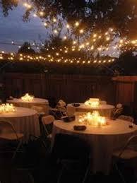 small diy backyard wedding unique backyard wedding lighting backyard wedding lighting