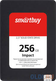 SSD накопитель <b>Smartbuy Impact</b> SBSSD-256GT-PH12-25S3 256Gb