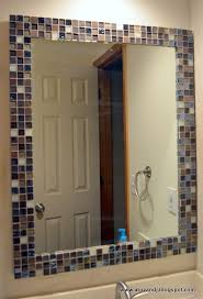 update bathroom mirror: time to update my guest bathroom for my first project i updated the
