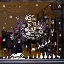 Wallgenics Merry <b>Christmas Tree</b> Gifts Socks Santa Claus Cap <b>Print</b> ...