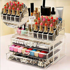 <b>Acrylic Makeup Organizer</b> for sale   eBay