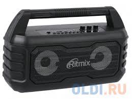 <b>Портативная колонка Ritmix</b> SP-610B Black — купить по лучшей ...