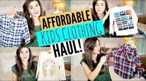 WALMART FALL <b>CHILDRENS CLOTHING</b> HAUL <b>2017</b> | GIRL AND ...