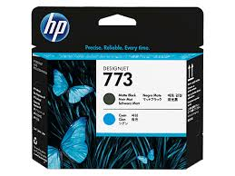 <b>HP 773</b> Matte Black/<b>Cyan</b> Printhead (C1Q20A)