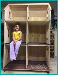Huckleberry Love  American Girl style Dollhouse  DIY American Girl style Dollhouse  DIY