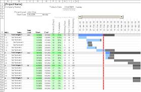 free gantt chart template for excelexcel gantt chart template   quot
