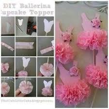 <b>6pc set</b> Ballerina cupcake toppers ballet tutu by <b>sofiabakerysupply</b> ...