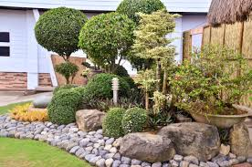 landscaping with large rocks backyard landscaping ideas rocks