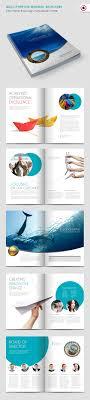 simple yet beautiful brochure design inspiration templates minimal brochure design template