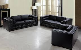 black leather living room sets black leather living room