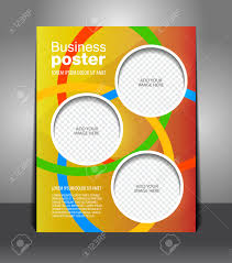 design color flyer magazine cover poster template royalty design color flyer magazine cover poster template stock vector 25163646