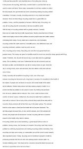essay recycling essay