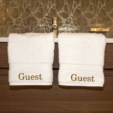 guest bathroom towels:  masterlinu