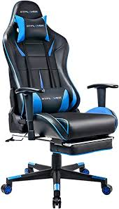 GTPLAYER Gaming Chair <b>Artificial</b> Leather <b>Office Chair</b> Height ...