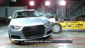 Euro NCAP Crash Test <b>of Audi A4</b>/<b>A5</b> - YouTube