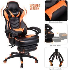 Luxury <b>Executive Racing</b> Gaming Swivel Recliner Computer <b>Office</b> ...