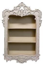 beautiful shabby chic off white french style wall storage unit shelf cut beautiful shabby chic style