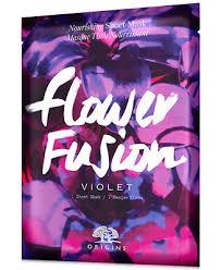 <b>Origins Flower Fusion Violet</b> Nourishing Sheet Mask & Reviews ...