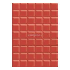 Настенная <b>плитка</b> La Favola Гардения, 40 х 28 см, красная ...