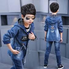 Check lastest price 4-<b>16T</b> Baby Boy Clothes <b>Boys</b> Denim Jacket ...