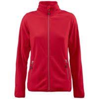 <b>Куртка флисовая женская</b> TWOHAND красная